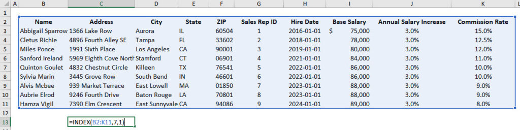 Index Match Function Excel: How Excel Processes It
